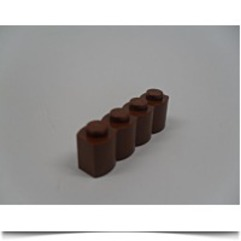 Building Accessories 1 X 4 Brown Palisade