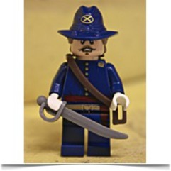 Buy Now Lone Ranger Captain J Fuller Minifigure