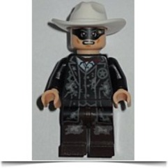 Lone Ranger Lone Ranger Mine Outfit Minifigure