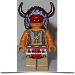 New Lone Ranger Red Knee 2 Minifigure
