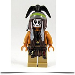 New Lone Ranger Tonto 2 Minifigure Loose