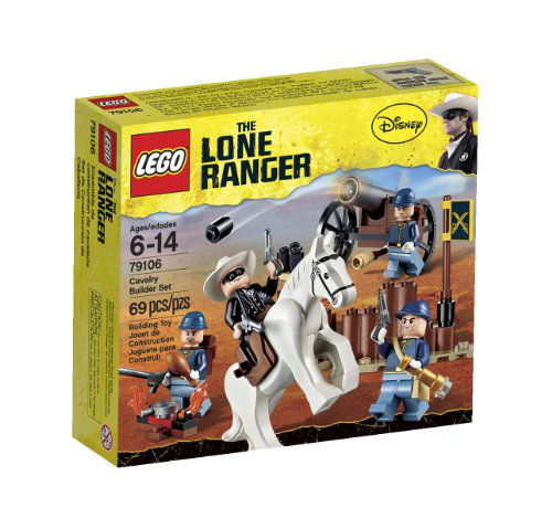 Lego The Lone Ranger Cavalry Builder Set (79106)