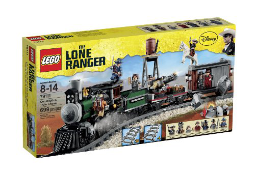 Lone Ranger Constitution Train Chase