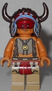 New Lego Lone Ranger Red Knee 2 Minifigure Loose