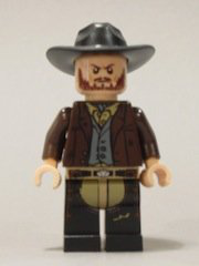 New Lone Ranger Frank 2 Minifigure Loose