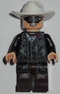 Lego Lone Ranger Lone Ranger Mine Outfit Minifigure