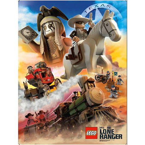 Lego The Lone Ranger Poster - Gift With Purchase