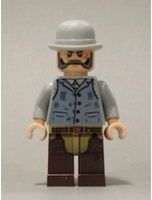 New Lone Ranger Ray 2 Minifigure Loose